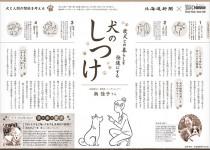 ペット用ウェルネスアシストサービス 新聞紙面企画
